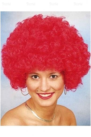 Raudonas klouno perukas