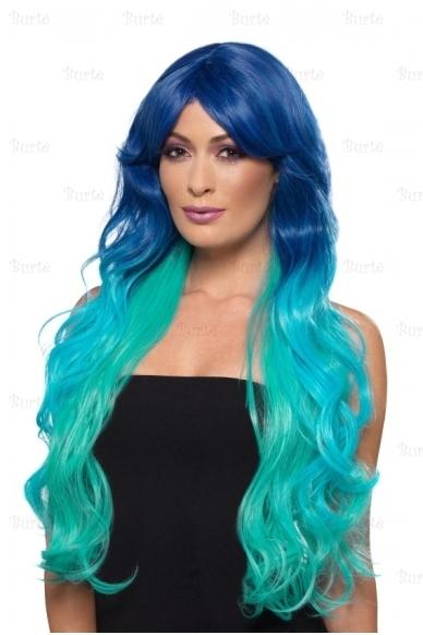 Mėlynas perukas