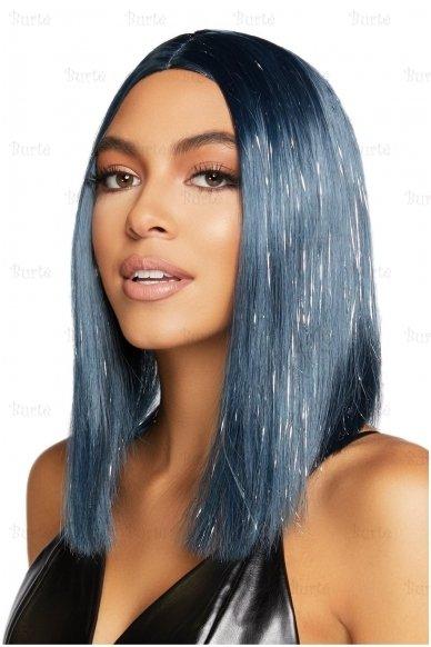 Mėlynas perukas 2
