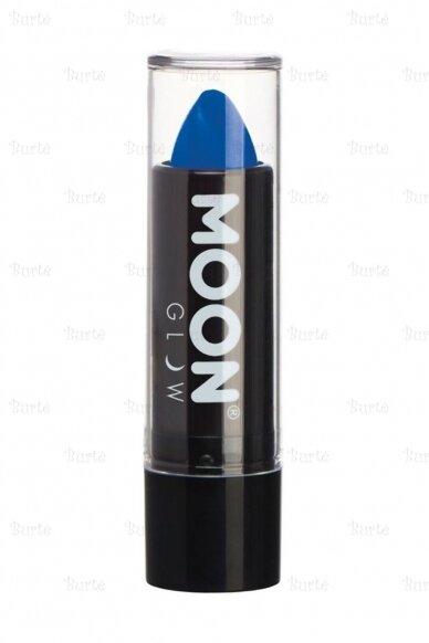 UV помада, неоново-синяя
