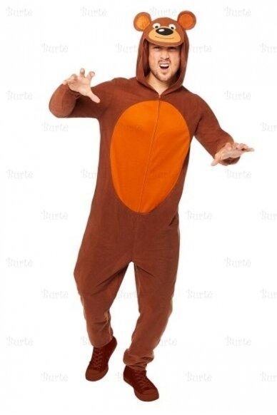 Brown bear costume