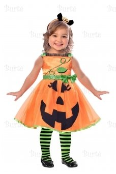Child Costume Cute Pumpkin