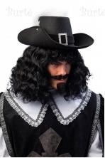 Muškietninko skrybėlė su sagtimi