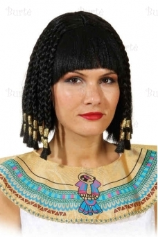 Egyptian lady wig