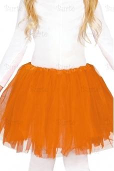 Oranžinis sijonas (vaikams)