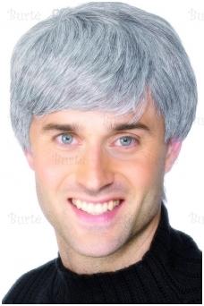 Žilų plaukų perukas
