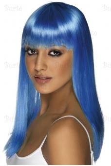 Парик синий