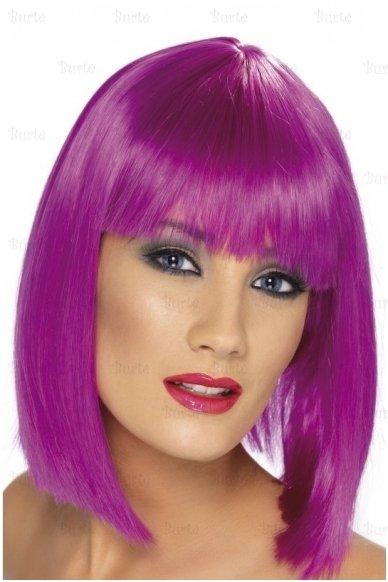 Violetinis perukas