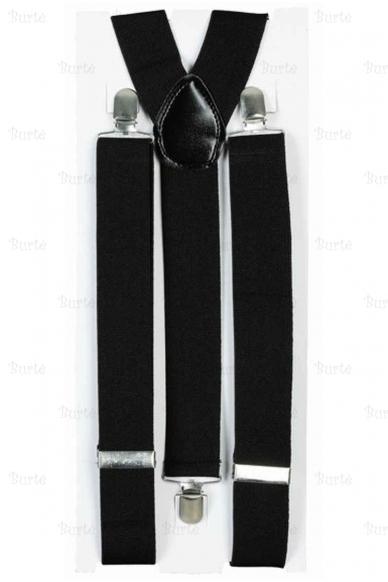 Подтяжки, черные