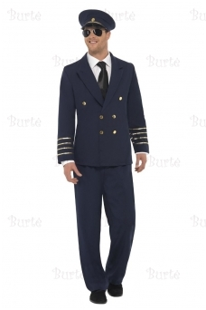 Pilot costume, dark blue