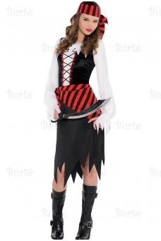 Children's Costume Buccaneer Beauty