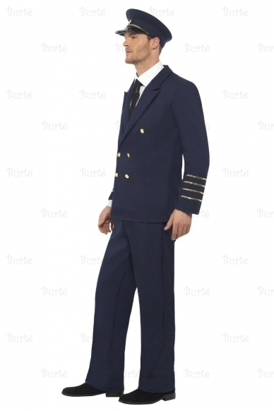Pilot costume, dark blue 2