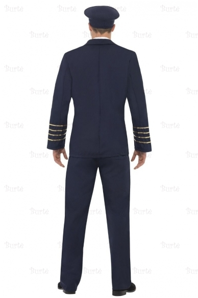 Pilot costume, dark blue 3