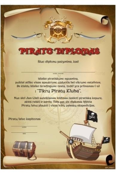 Pirato diplomas