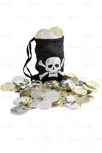 Pirato monetų maišelis