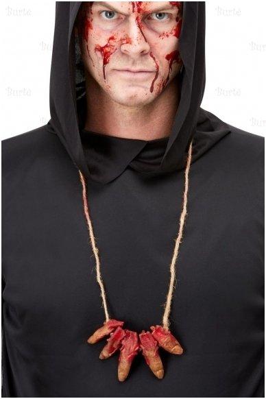 Finger necklace