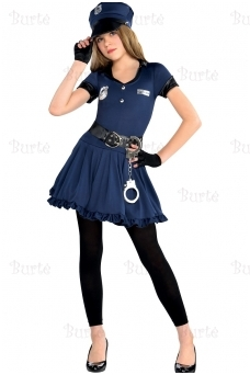 Children's Costume Cop Cutie