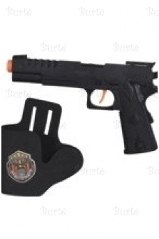 Gun with Holster