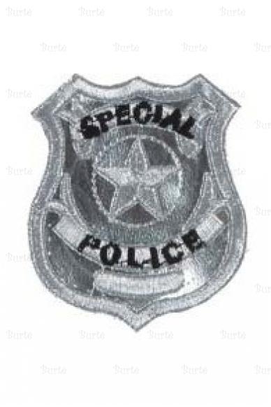 Policininko emblema - ženkliukas