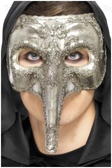 Prabangi vyriška kaukė