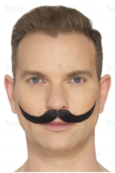The English Moustache, Black