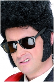 Teddy Boy Sideburns, Black
