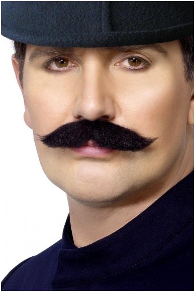 Priklijuojami policininko ūsai