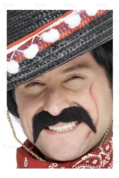 Priklijuojami meksikiečio ūsai