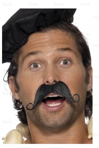 Priklijuojami prancūzo ūsai