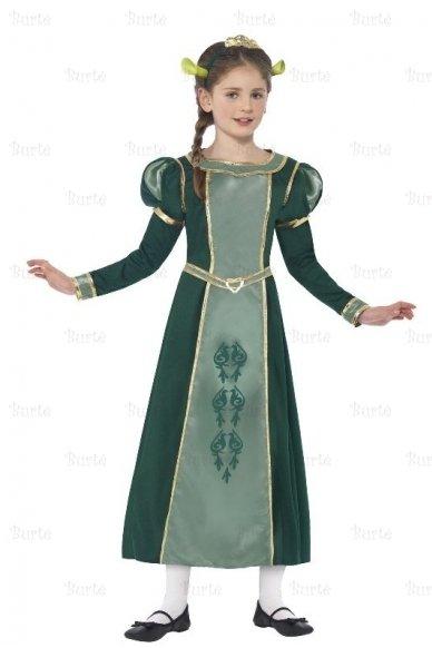 Princesės Fionos kostiumas