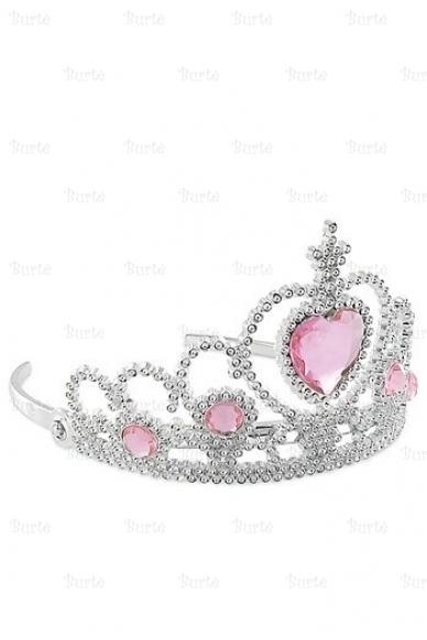 Princesės karūna, rožinė 2