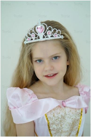Princesės karūna, rožinė