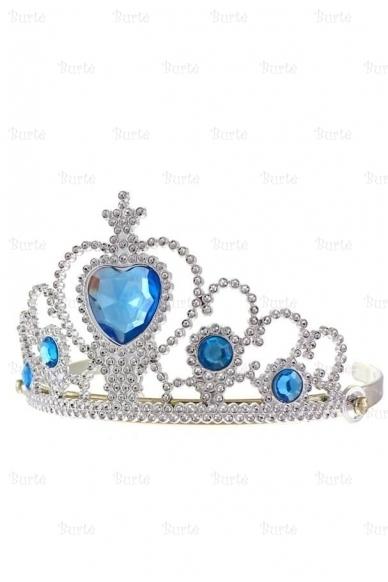 Princesės karūna, žydra 2