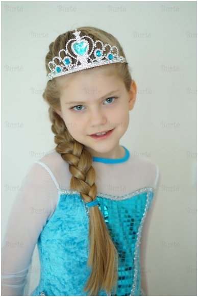 Princesės karūna, žydra