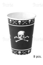 Puodeliai piratų vakarėliui