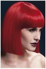 Raudonos spalvos perukas Lola
