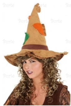 Witches hat, brown
