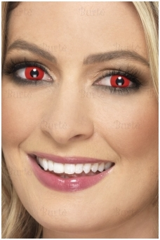 Red Colored Contact Lenses