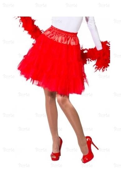 Raudonas sijonas