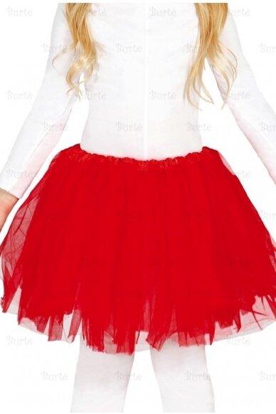 Raudonas sijonas (vaikams)