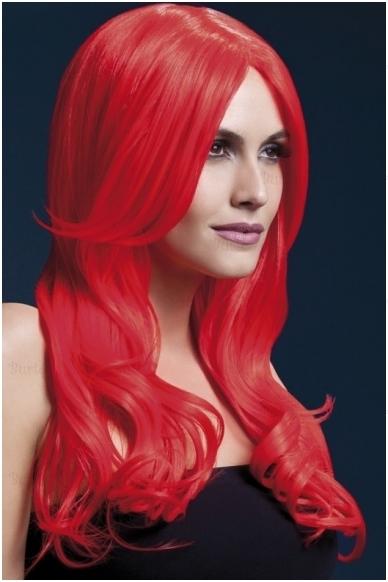 Raudonų plaukų perukas Khloe