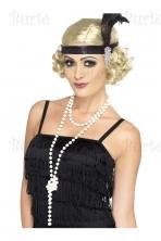 Retro perlų karoliai