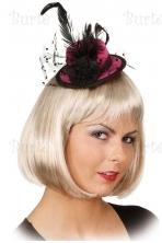 Retro skrybėlaitė, rožinė