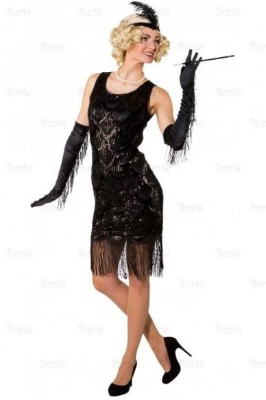 Fringed Flapper Costume 3
