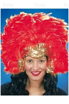 Samba Queen Feather Headdress