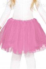Rožinis sijonas (vaikams)