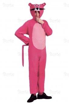 Rožinės panteros kostiumas