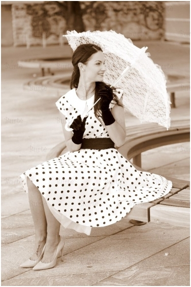 Rokenrolo stiliaus suknelė 2