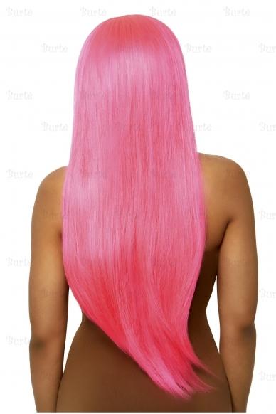 Парик розовый 2