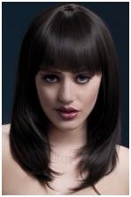 Rudų plaukų perukas Tanja